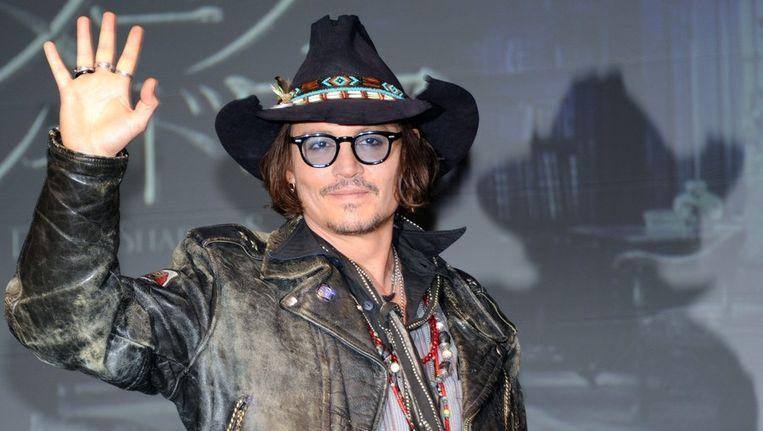 Johnny Depp in Tokio in mei van dit jaar Beeld afp