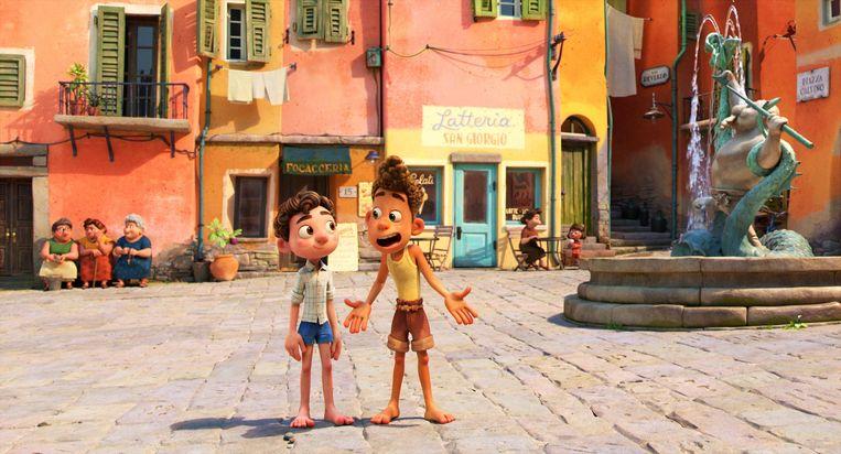 Luca. Beeld Pixar