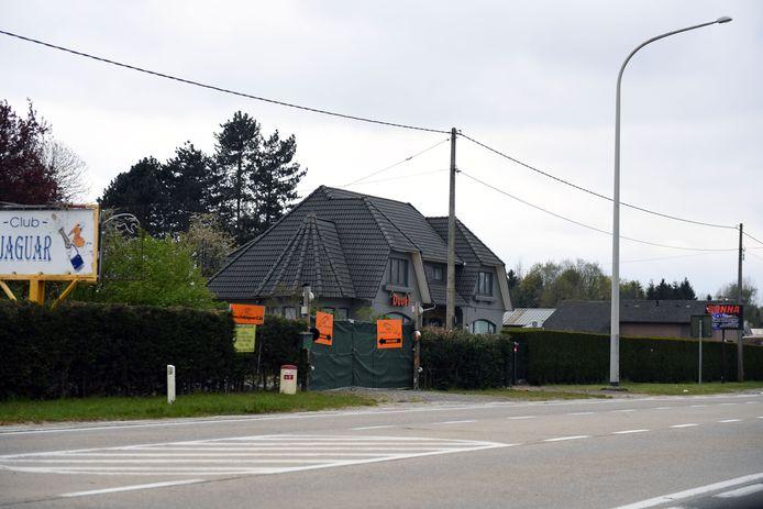 Club Donna op de Staatsbaan in Lubbeek
