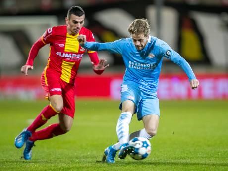 Beukema's zevende brengt GA Eagles na duel met Jong PSV nu al op 50 punten