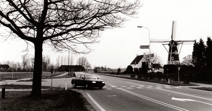 Windmolen De Roosdonck in Nuenen (1992).