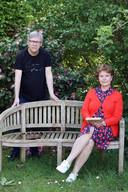Annie Van Paemel en co-auteur Dirk Verhofstadt.