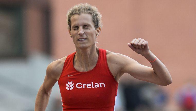 Olivia Borlée kwam niet verder dan 11.65 op de 100m. Beeld BELGA