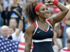 """Serena Williams: """"Je ne pensais pas être aussi heureuse"""""""