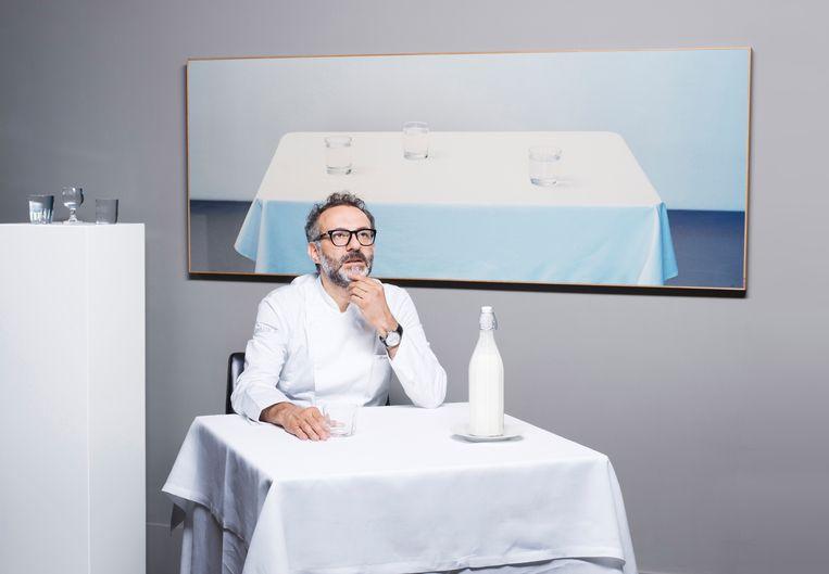 Wervelwind Massimo Bottura gaat direct naar de kern van de zaak: