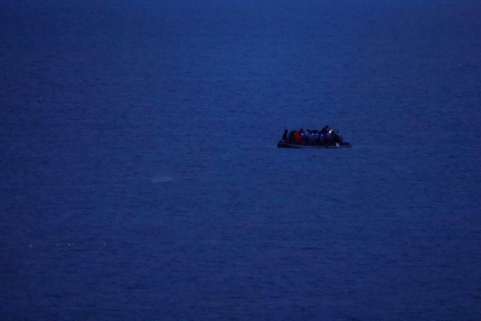 Un bateau de migrants au large des côtes françaises (13 septembre 2021)