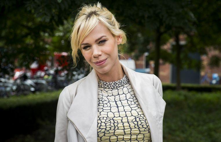 Nicolette Kluijver, de presentatrice van het nieuwe RTL programma Sex Acadamy. Beeld anp
