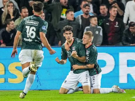 NEC gaat na sensationele comeback in laatste minuten alsnog onderuit tegen Feyenoord