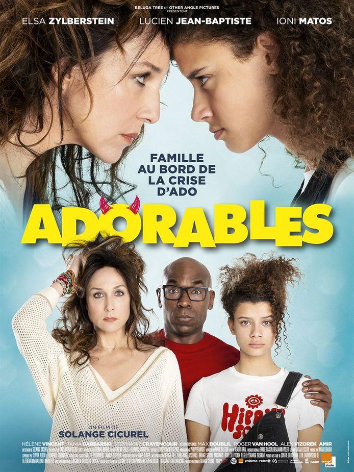 """""""Adorables"""" est un film d'une réalisatrice belge avec une jeune actrice belge dans le rôle de l'adolescente rebelle."""
