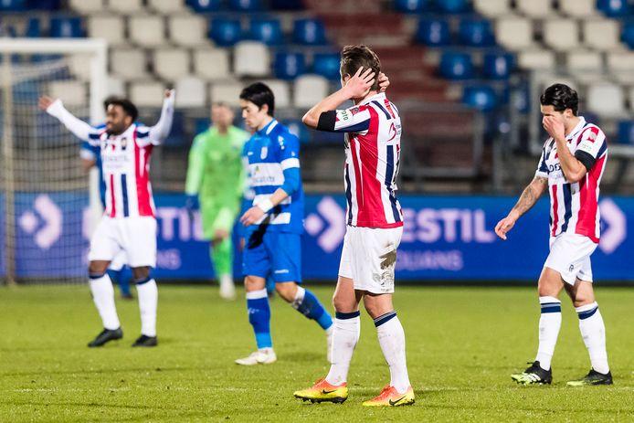 Willem II is wanhopig op zoek naar punten.