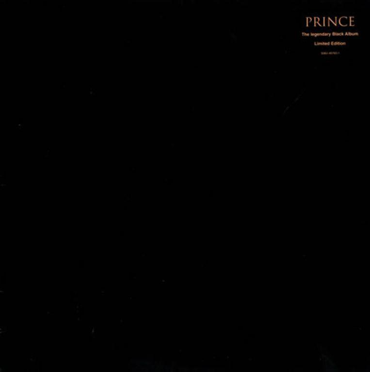 The Black Album (1994) van Prince. Beeld -
