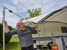 Campings in Salland en Achterhoek draaien op volle toeren tijdens nat pinksterweekend
