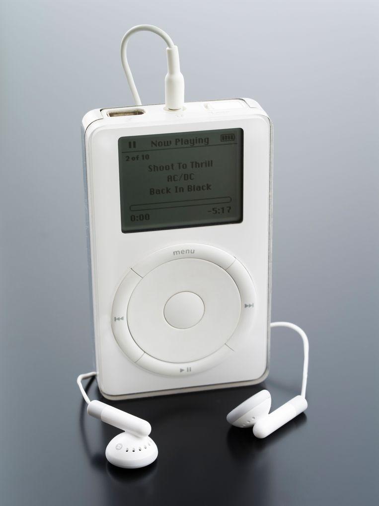 De eerste generatie iPod uit 2001. Beeld Alamy Stock Photo