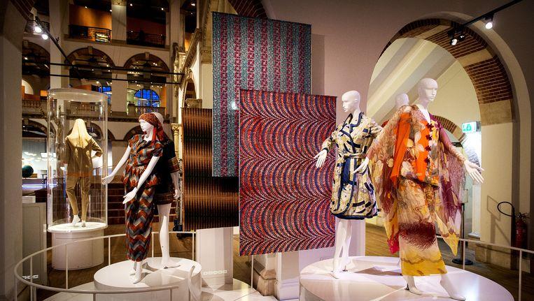 The Sixties tentoonstelling in het Tropenmuseum in Amsterdam. Beeld anp