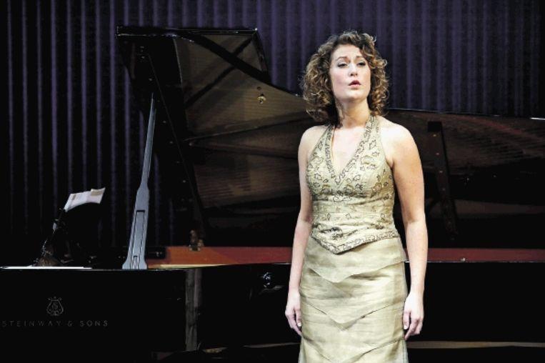 De Nederlandse mezzosopraan Rosanne van Sandwijk was een van de finalisten. (FOTO HANS HIJMERING) Beeld ANP