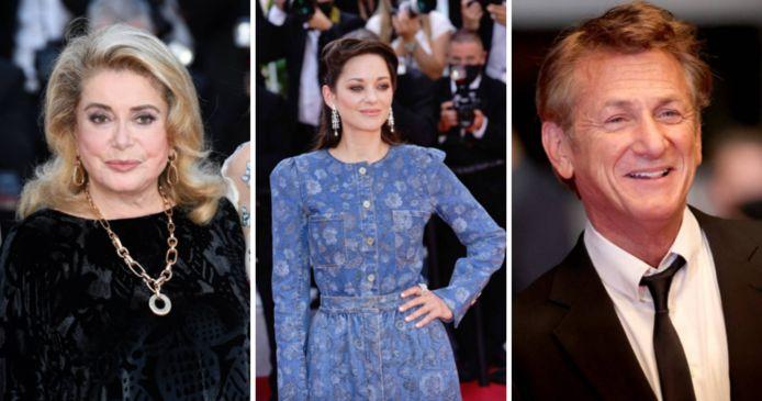 Catherine Deneuve, Marion Cotillard et Sean Penn étaient sur les marches de Cannes ce samedi soir.