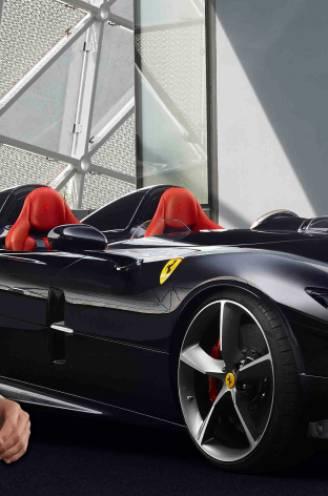Ronaldo bezoekt illustere Ferrari-fabriek en rijdt met supercar van 1,6 miljoen euro huiswaarts