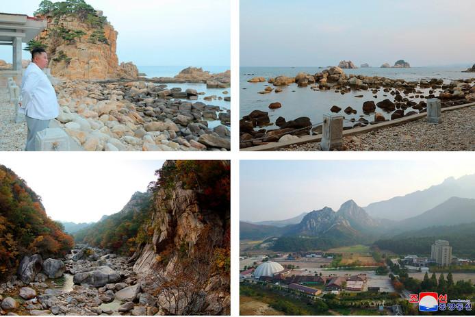 Kim wil dat de nieuwbouw meer zal aansluiten bij de natuurlijke omgeving van Kumgang.