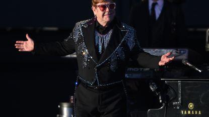 Zieke Elton John zegt weer concerten af