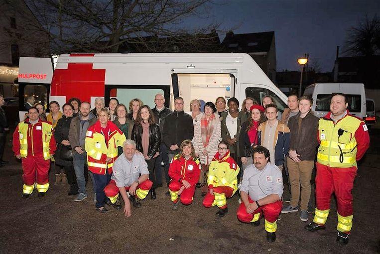 De afdeling van het Rode Kruis van Beersel-Rode beschikt vanaf nu over een nieuwe mobiele hulppost.