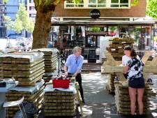 Op deze pleinen in Rotterdam worden de terrassen zeker groter de komende tijd