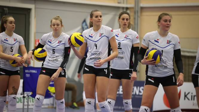 """Jo Santemans (Ladies Volley Limburg) over de herkansing in Oudegem: """"Op een week tijd geen wonderen verwachten"""""""