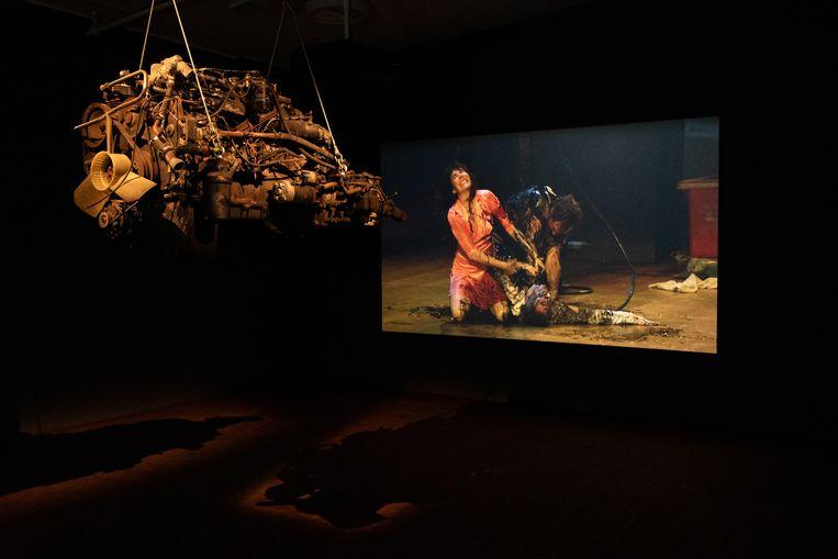 Kamer gewijd aan Obsession (1943) van Luchino Visconti. Door TGA gebracht in 2017. Beeld Nosh Neneh
