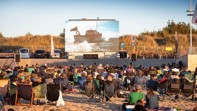 Film op het Strand keert ook terug in Zeebrugge.