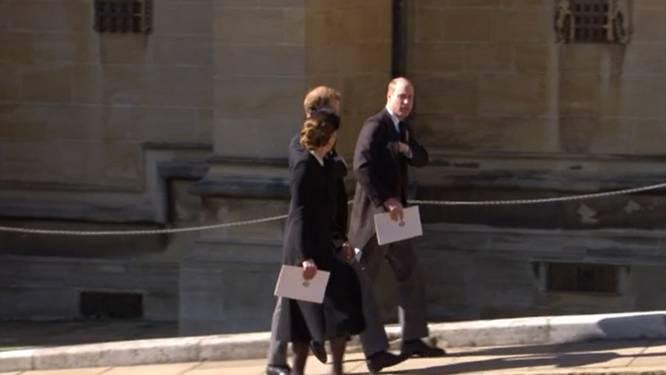 Les princes William et Harry apparaissent unis aux funérailles de leur grand-père