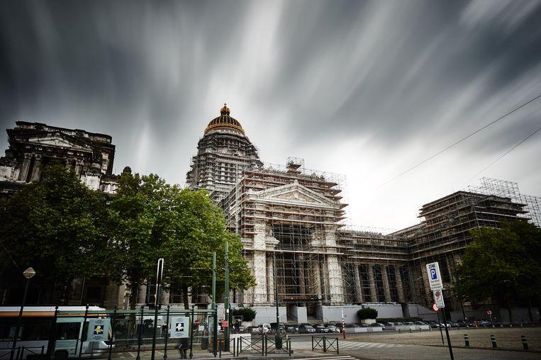 Justitiepaleis Brussel. Beeld PHOTO_NEWS