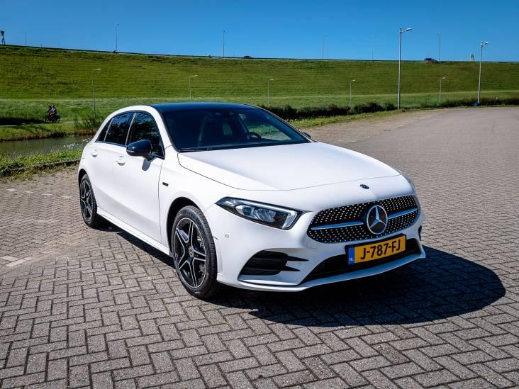 Test Mercedes-Benz A-Klasse: 'baby-Benz' met stekker rijdt pittig en toch zuinig
