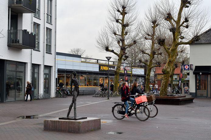 Winkelcentrum De Biezenkamp in Leusden