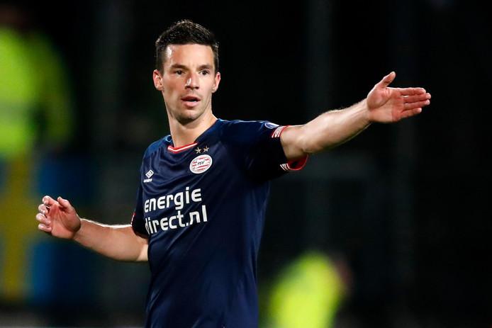 Nick Viergever tijdens Willem II - PSV.