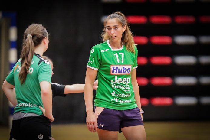 Sarina Leenen is T1 van dames Hasselt in eerste nationale.