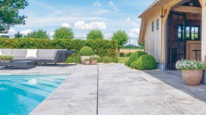 Keramische terrastegels: hoe groter, hoe mooier