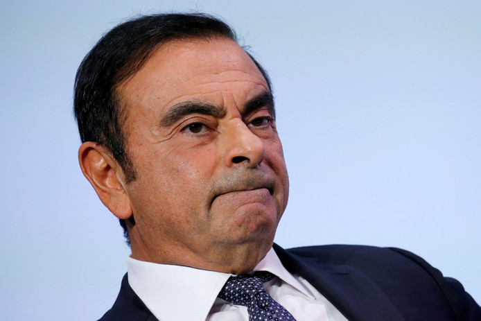 Carlos Ghosn, CEO van de alliantie Renault-Nissan-Mitsubishi