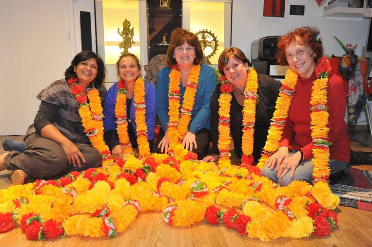 De dames van vzw Urli uit Bonheiden.