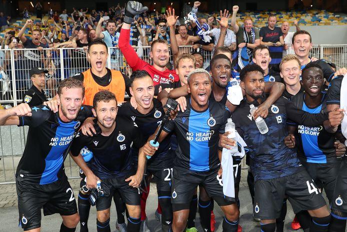 Club Brugge vier in Kiev.