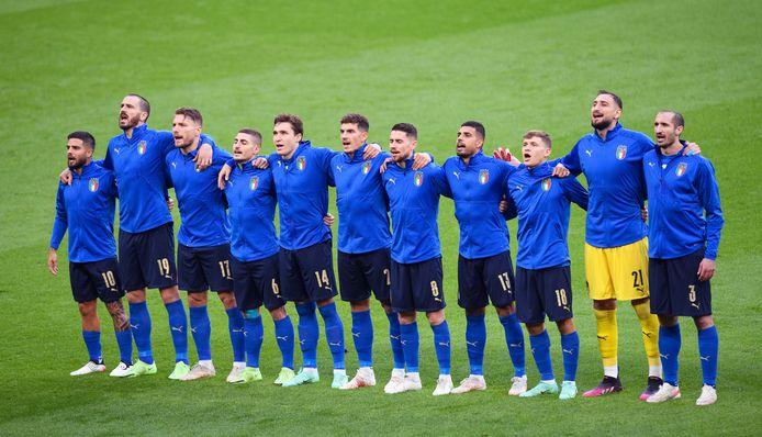 C'est toute l'Italie qui entonnera le 'Fratelli d'Italia' avec la Squadra, dimanche soir.