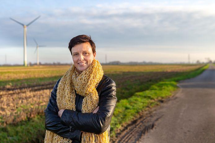 Jenny van der Horst stond aan de basis van het energieproject in Tolhuislanden.