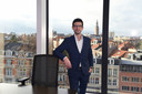 Burgemeester Mohamed Ridouani (Vooruit) is trots op de resultaten voor Leuven in de Vlaamse Stadsmonitor.