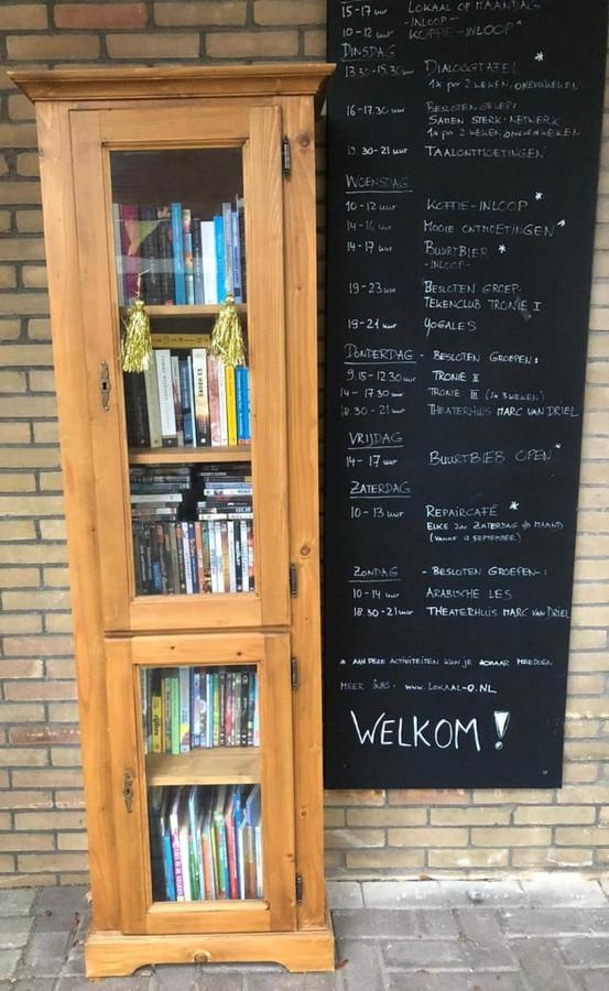 Een van de minibibliotheken in Baarn.
