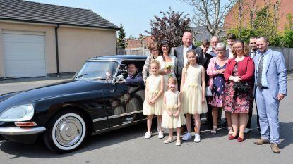 Burgemeester is chauffeur bij huwelijk Christ Nyffels