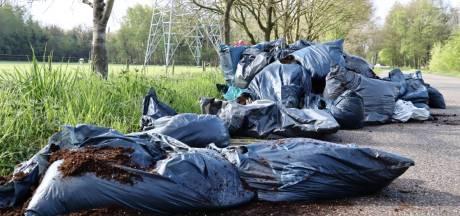Verontwaardiging in Twekkelo over grote hoeveelheid gedumpte drugsafval