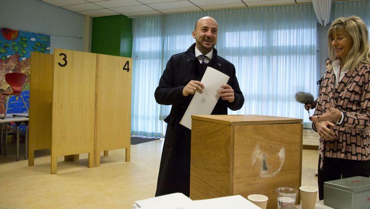 De sociaaldemocratische LSAP-topkandidaat Etienne Schneider. Beeld AP