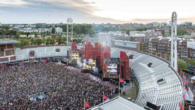 Festival Flying Dutch in het Olympisch Stadion. Beeld anp