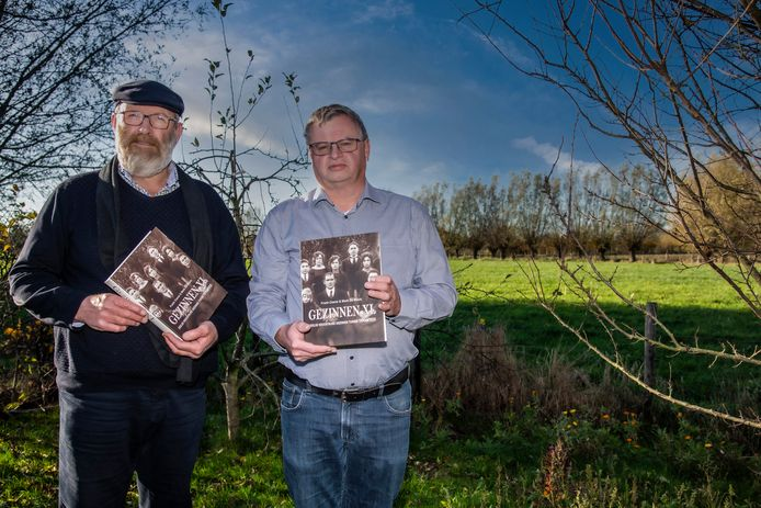 Mark De Block en Frank Coene schreven samen een boek over grote gezinnen uit Zele. Er is nu een opvolger op komst.
