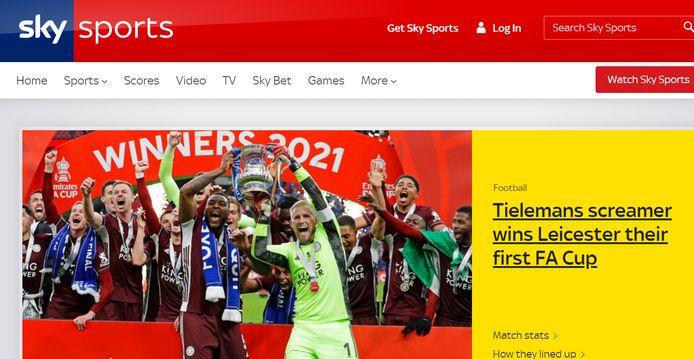 Sky Sports.