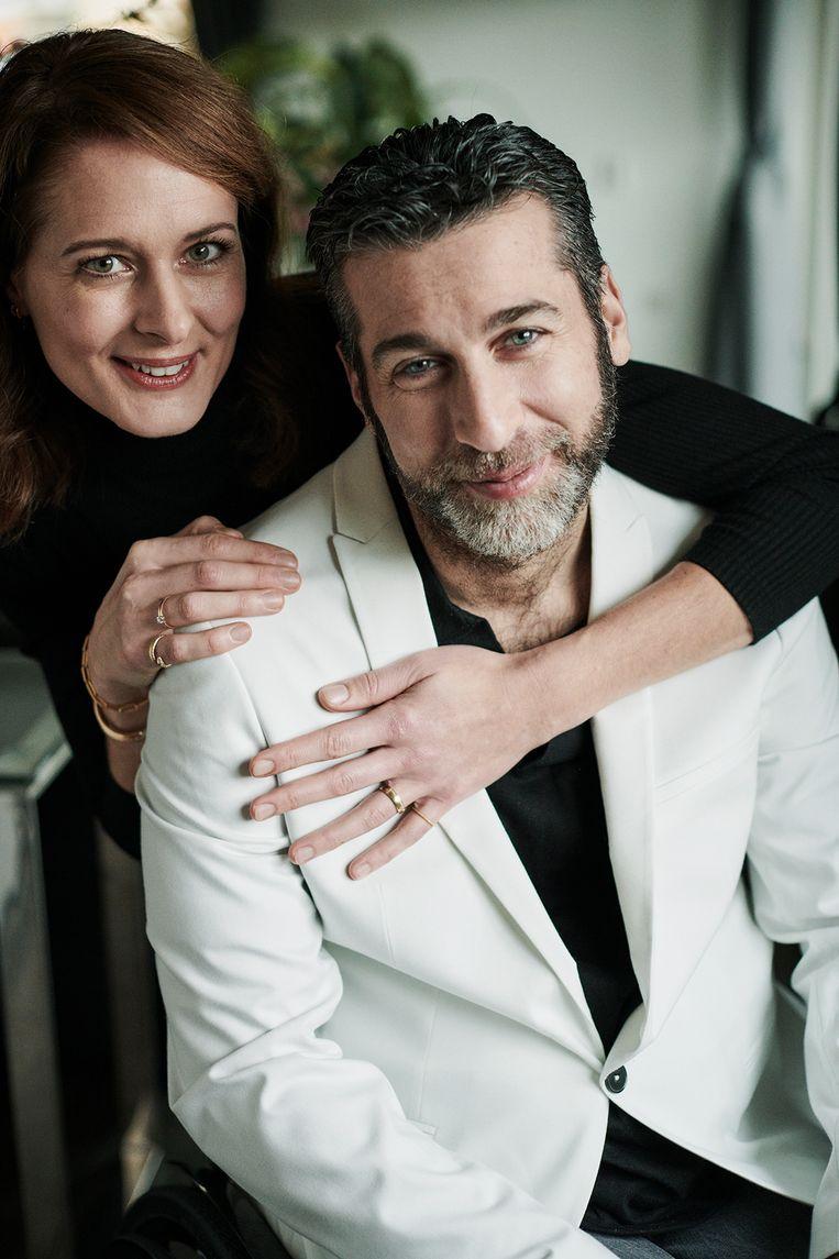 Marc en Remona.  Beeld Elmar Krop/Nouveau magazine