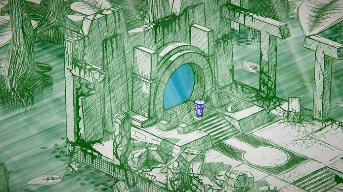 De 'tekenaar' van de game heeft heel wat verrassingen voor je in zijn mouw.